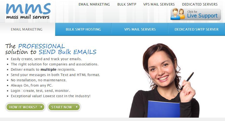 mass mail servers